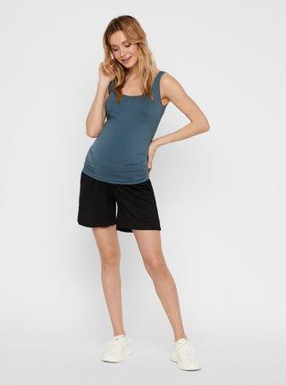 Černé těhotenské kraťasy Mama.licious Jersey