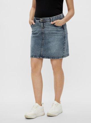 Modrá těhotenská džínová sukně Mama.licious Chester