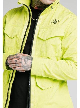 Žlutá pánská bunda - JACKET ZIP LIGHTWEIGHT