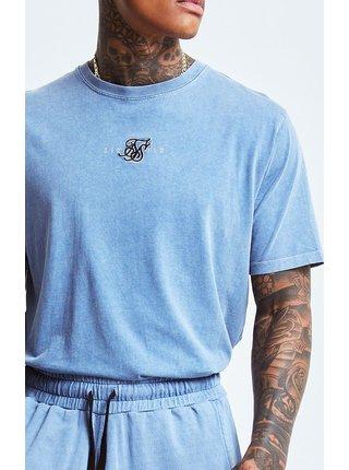 Modré pánské tričko - TEE FIT STANDARD S/S