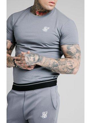 Šedé pánské tričko - TEE GYM S/S