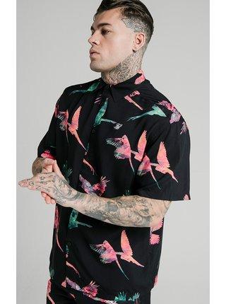 Barevná pánská košile - SHIRT RESORT COLLAR HIGH
