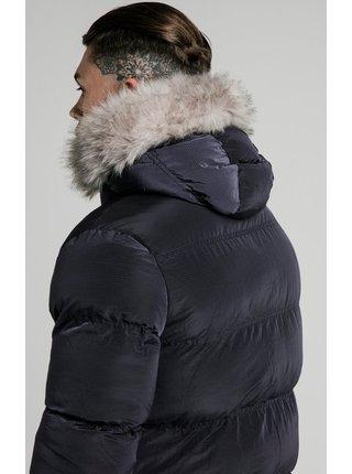 Tmavě modrá pánská zimní bunda - PARKA PUFF STOP RIP