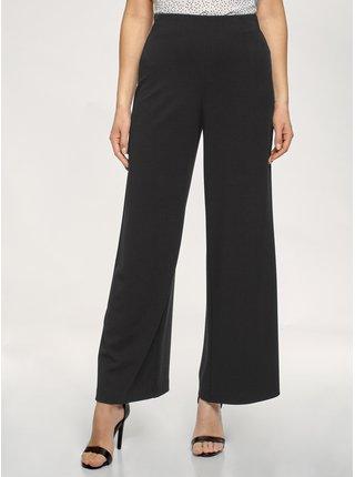 Kalhoty široké s vysokým pasem OODJI