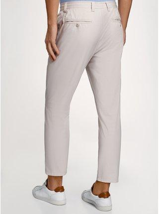Kalhoty bavlněné se zavazováním OODJI