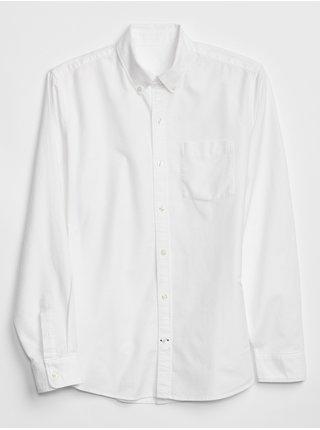 Bílá pánská košile oxford shirt in standard fit