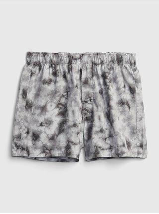 Šedé pánské trenýrky print boxers