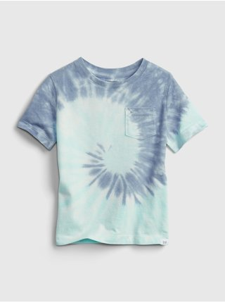 Modré klučičí dětské tričko 100% organic cotton mix and match t-shirt