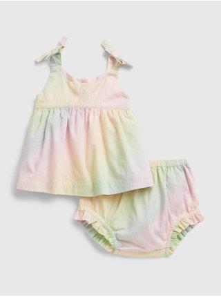Barevný holčičí baby set may outfit