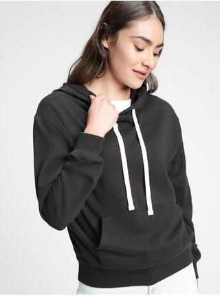 Černá dámská mikina fleece hoodie