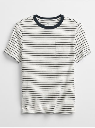 Modré klučičí dětské tričko pocket t-shirt