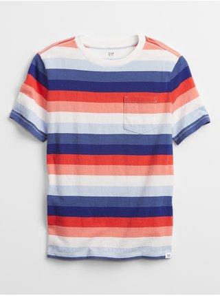 Barevné klučičí dětské tričko pocket t-shirt