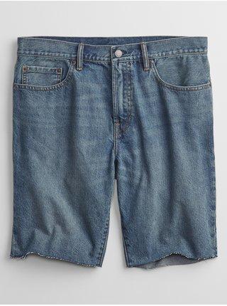 Modré pánské džínové kraťasy denim shorts