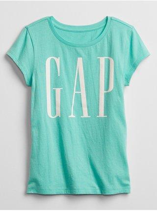 Modré holčičí dětské tričko GAP Logo t-shirt