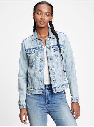Modrá dámská džínová bunda icon denim jacket
