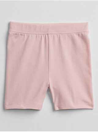 Růžové holčičí dětské kraťasy bike shorts