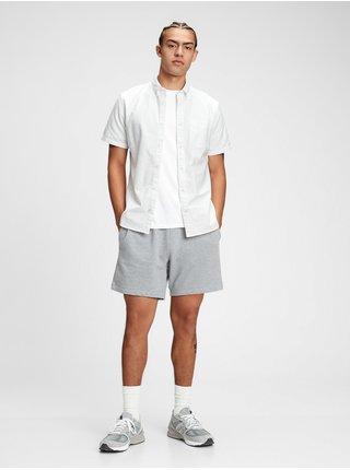 Bílá pánská košile lived-in stretch oxford shirt
