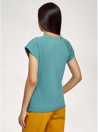 Tričko bavlněné potištěné OODJI
