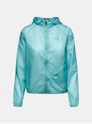 Bunda Under Armour Qualifier Packable Jacket - modrá