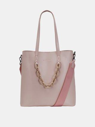 Růžová kabelka Claudia Canova