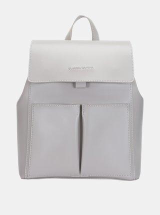 Svetlošedý batoh Claudia Canova