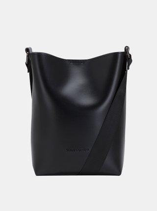Čierna kabelka s odnímateľným poúzdrom Claudia Canova