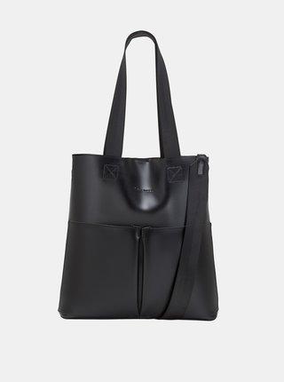 Čierna kabelka s odnímateľným púzdrom Claudia Canova