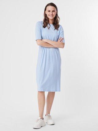 Světle modré šaty AWARE by VERO MODA Nava