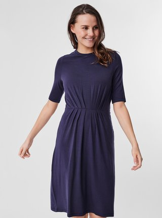 Tmavomodré šaty AWARE by VERO MODA Nava