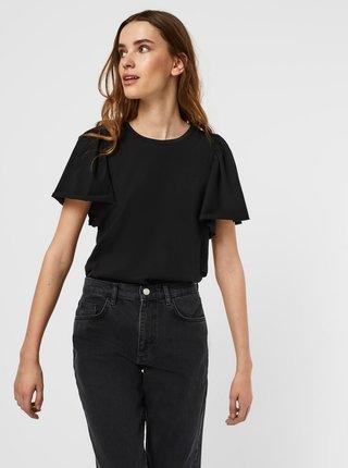 Čierne tričko AWARE by VERO MODA Onella
