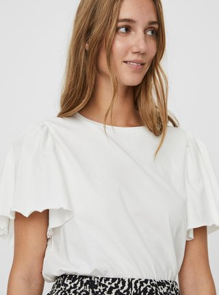 Bílé tričko AWARE by VERO MODA Onella