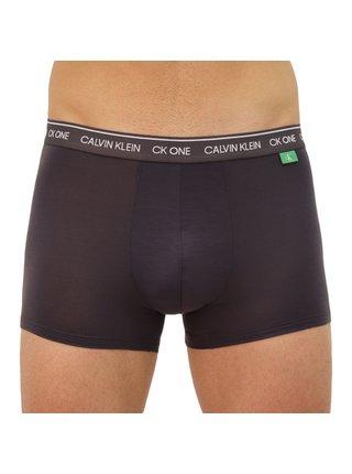 Pánské boxerky CK ONE tmavě šedé
