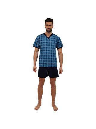 Pánské pyžamo Lonka petrolejové