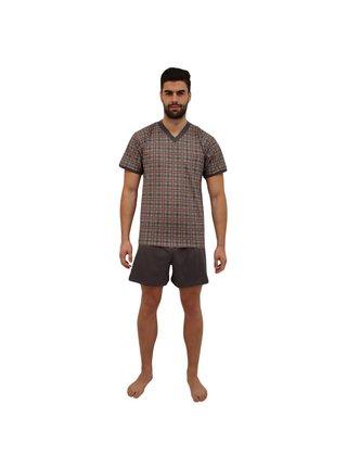 Pánské pyžamo Lonka šedé