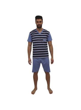 Pánské pyžamo Foltýn modré