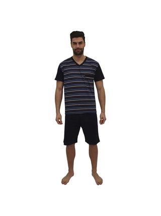 Pánské pyžamo Foltýn tmavě modré