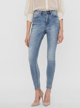 Světle modré skinny fit džíny VERO MODA Sophia