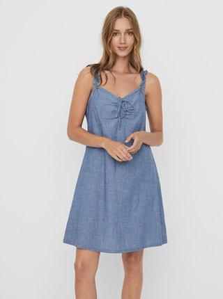 Modré šaty VERO MODA Akela