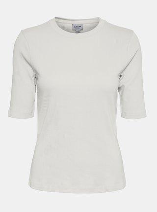 Krémové tričko AWARE by VERO MODA Okay