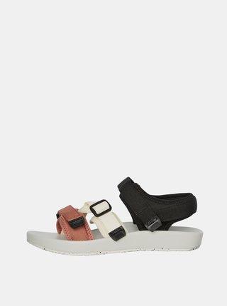 Bielo-čierne sandále VERO MODA Soft