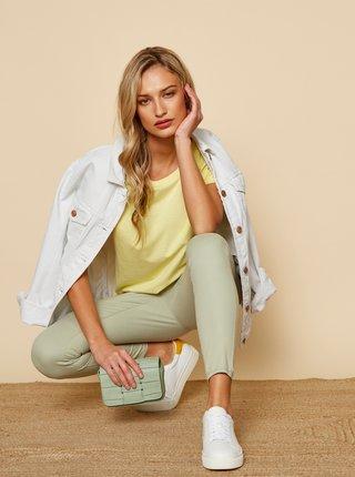 Žluté dámské basic tričko ZOOT Baseline Ruthie