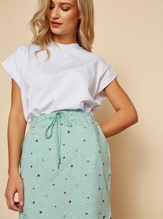 Zelená vzorovaná sukně ZOOT Baseline Tima