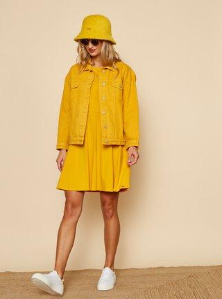 Oranžové basic šaty se zavazováním ZOOT Baseline Buffy 2