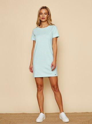 Bílo-modré pruhované basic šaty ZOOT Baseline Marine