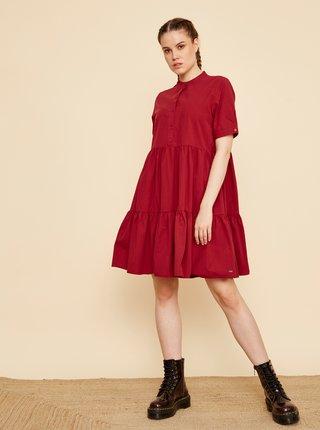 Vínové košilové šaty ZOOT Taylor