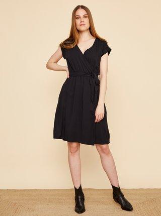 Černé šaty se zavazováním ZOOT Vera