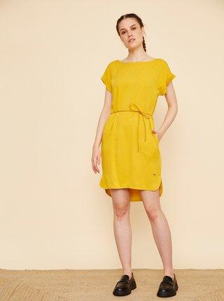 Žluté šaty se zavazováním ZOOT Myla