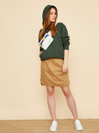 Hnedá sukňa s vreckami ZOOT Baseline Otelia