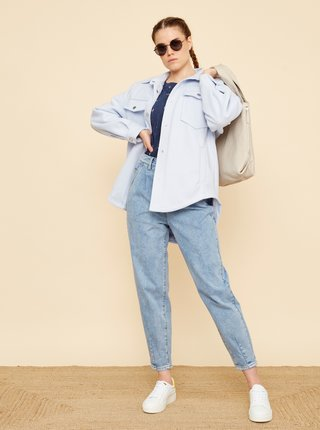 Tmavě modré dámské vzorované tričko ZOOT Baseline Runa