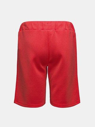 Červené chlapčenské kraťasy s pásom SAM 73
